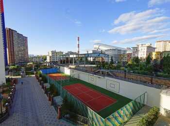 Инфраструктура для занятий спортом в жилом комплексе ART